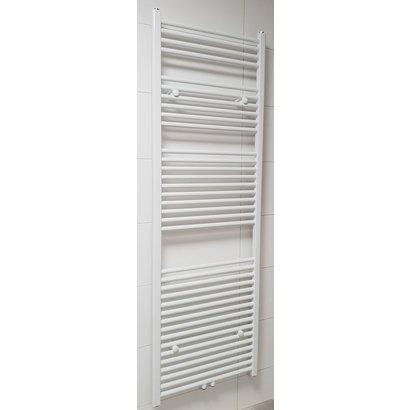 Radiator Lydia 180x60 cm wit met midden-onderaansluiting