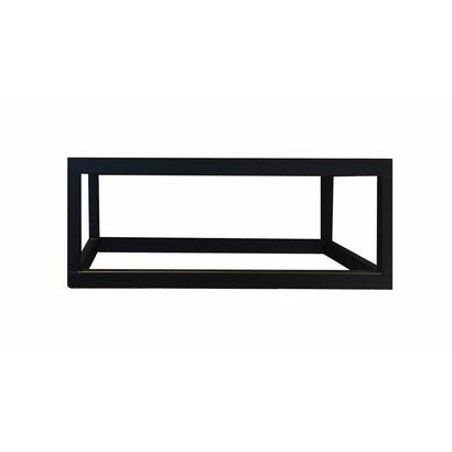 Fontein Frame staal Mat Zwart 40x22x15 cm