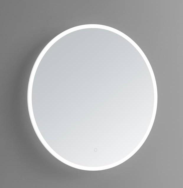 Ronde spiegel met LED verlichting en 3 kleur instelbaar & dimbaar