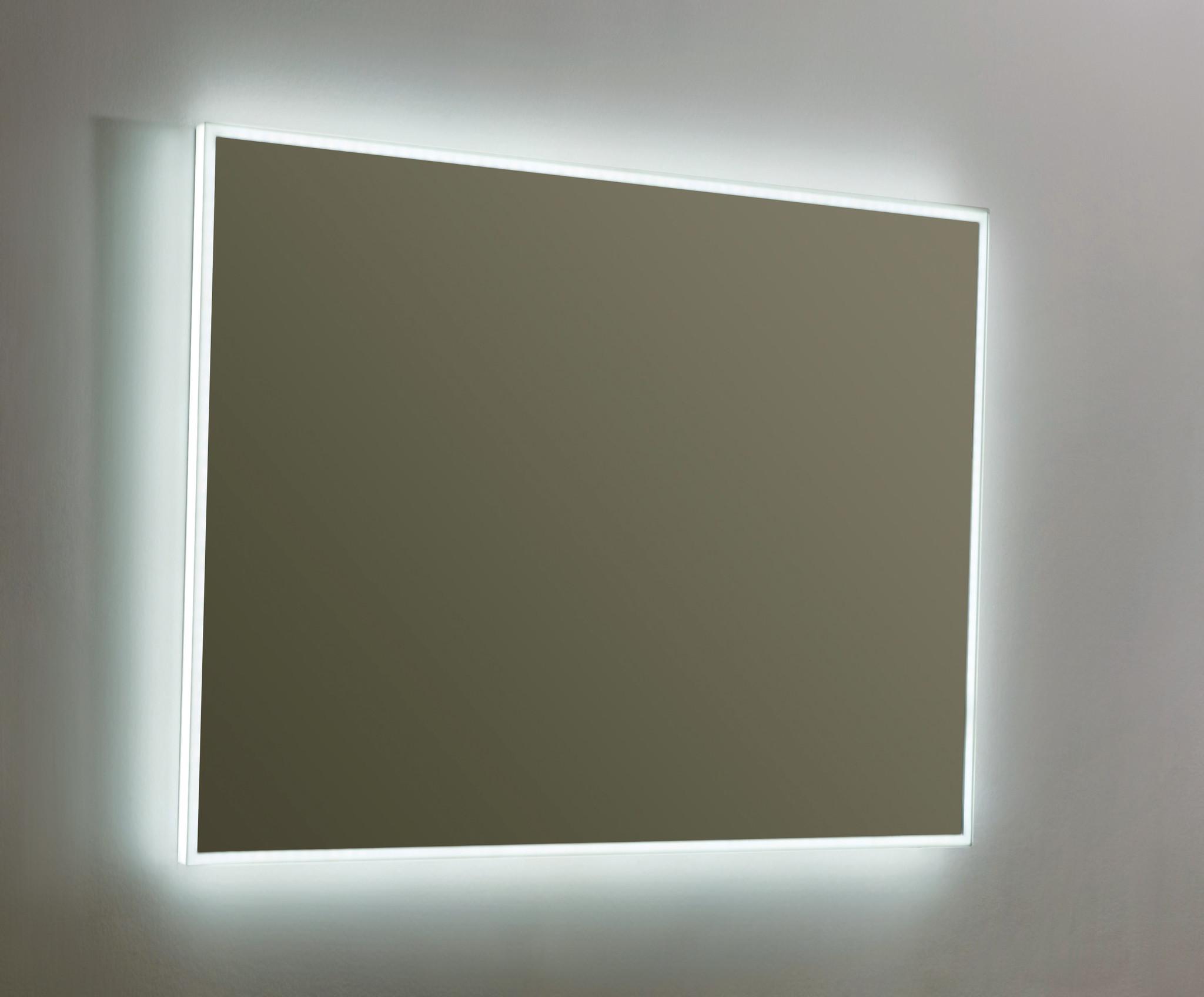 Aluminium spiegel infinity met rondom LED verlichting