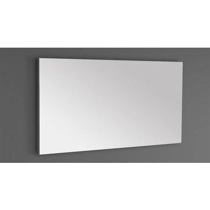 Aluminium standaard spiegel 140