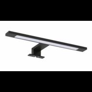 Spiegellamp LED aluminium 30 cm Mat Zwart