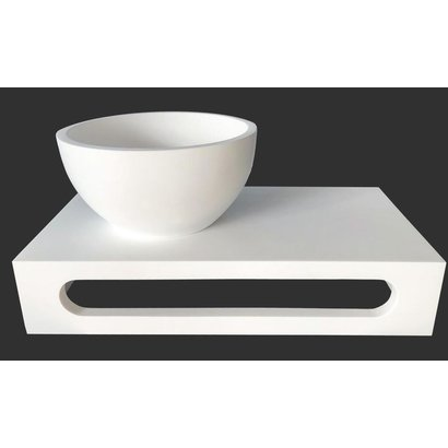 Fontein planchet Solid Surface + Fonteinkom Solid Surface