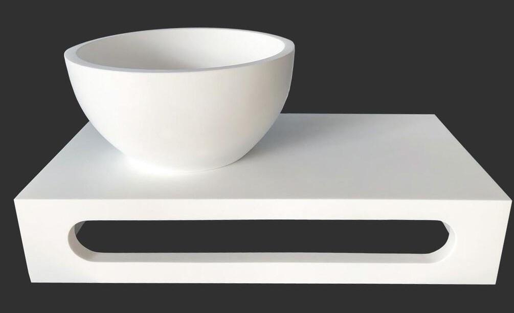 Solid Surface planchet met kom