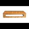 Fontein planchet Wood Eiken 40x22x8 cm