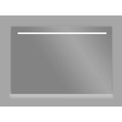 Aluminium spiegel met LED verlichting en onder verlichting 100