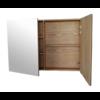 Spiegelkast Wood Eiken zonder verlichting 120