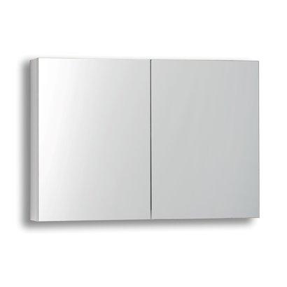 Spiegelkast zonder verlichting 80 Hoogglans Wit