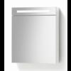 Spiegelkast met LED verlichting incl. opbouw stopcontact schakelaar 60 Hoogglans Wit