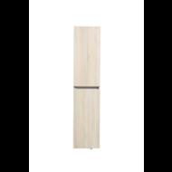 Kolomkast Trendline met greeplijst aluminium Light Wood