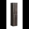 Kolomkast Trendline met greeplijst aluminium Century Oak
