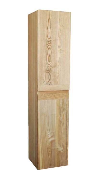 Kolomkast Wood Eiken met greeplijst in korpus kleur