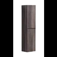 Kolomkast Infinity korpus en deur in het verstek met greeplijst in korpus kleur Century Oak