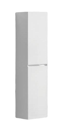 Kolomkast Infinity korpus en deur in het verstek met greeplijst in korpus kleur