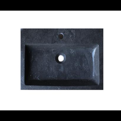 Wastafel Compact Stone natuursteen 60
