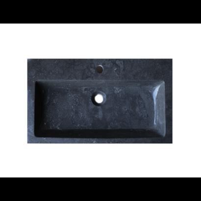 Wastafel Compact Stone natuursteen 80