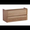 Wood Eiken onderkast met greeplijst in korpus kleur 100