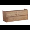 Wood Eiken onderkast met greeplijst in korpus kleur 120