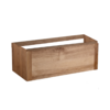 Vision Wood Eiken onderkast 1 Lade met greeplijst in korpus kleur 100