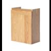 Fonteinkast Wood Eiken met greeplijst in korpus kleur
