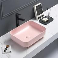 Waskom Minerva Color Line incl. clickwaste Mat Pastel Roze