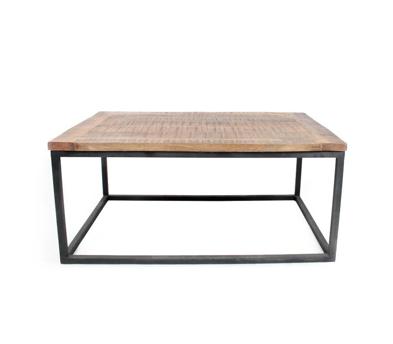 Salontafel Box Industrieel 100x65 cm