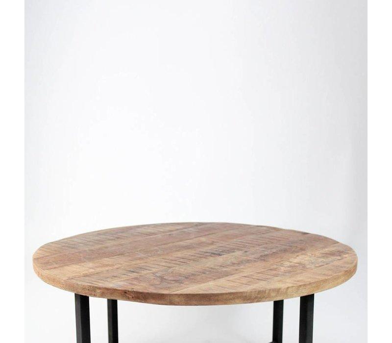 Salontafel rond Dex 80x40 cm manghout