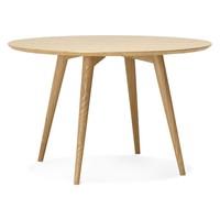 Tafel Rond 120.Kokoon Design Ronde Eettafel Janet 120 Cm Met Walnoot Fineer Hoom
