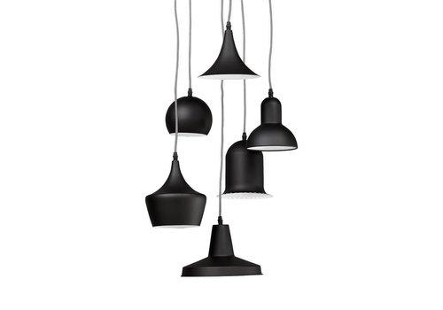 Kokoon design Hanglamp set van 6 PENGAN