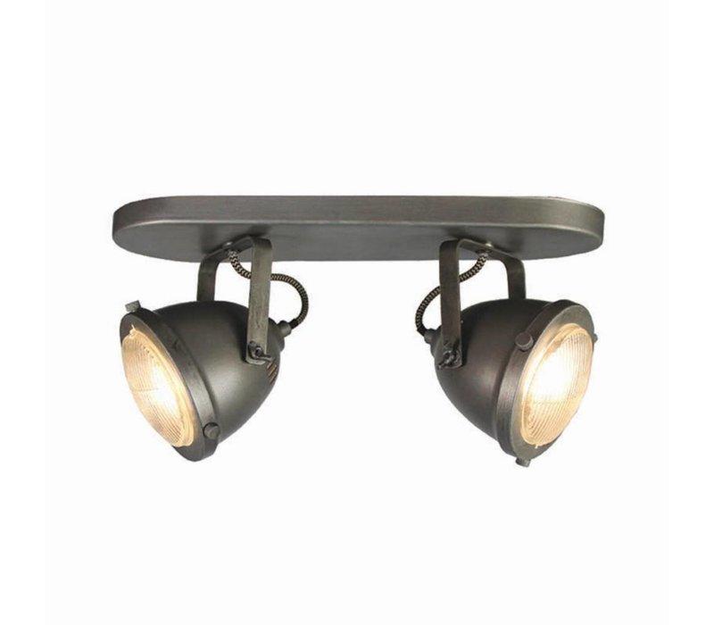 Plafondlamp LED Spot Moto 2-Lichts