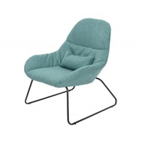 Fauteuil lounge Pes stalen frame