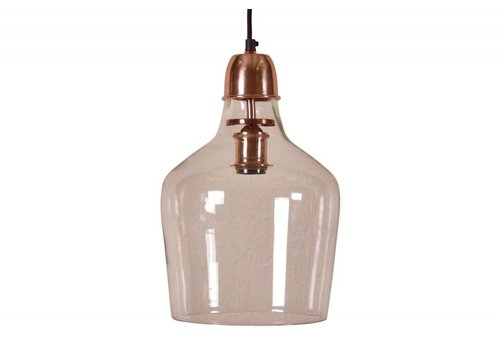 hoom-amsterdam Hanglamp Sage Ø23 glas koper