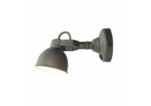 Label51 Wandlamp Bow grijs  M incl. led