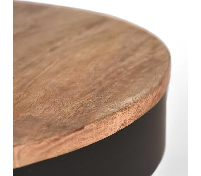 Salontafel rond Saran 80 cm