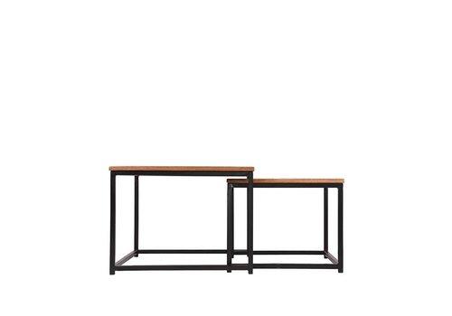 Label51 Salontafel vierkante Set Couple 60x60x45 cm