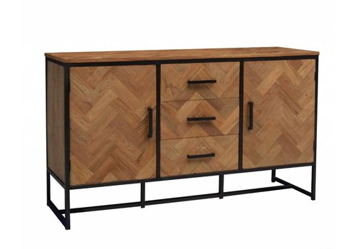Livingfurn Dressoir SB Accent 145cm  recycled teak