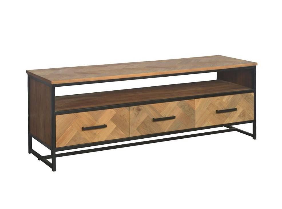 Livingfurn TV meubel SB Accent 150cm recycled teak