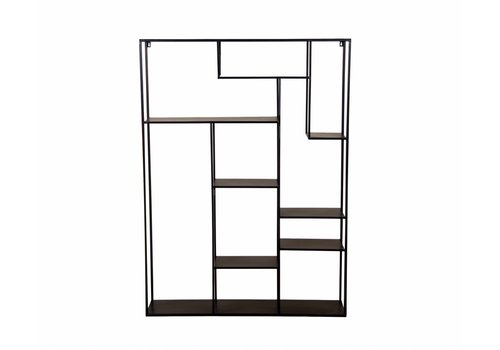hoom-amsterdam Open kast Talara 110 cm antique black