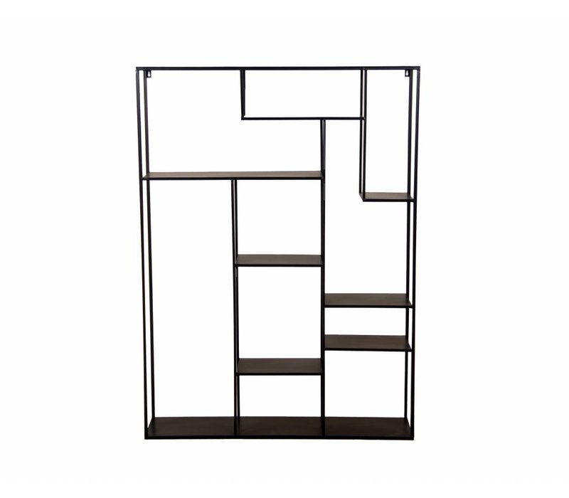 Open kast Talara 110 cm antique black