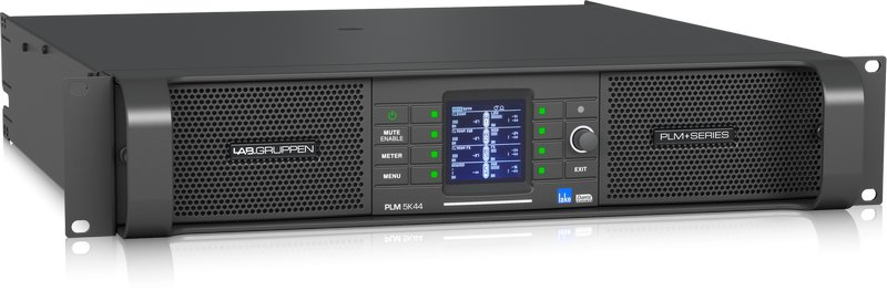 Lab Gruppen PLM 5K44 DSP Amp 4x1250W/4ohm