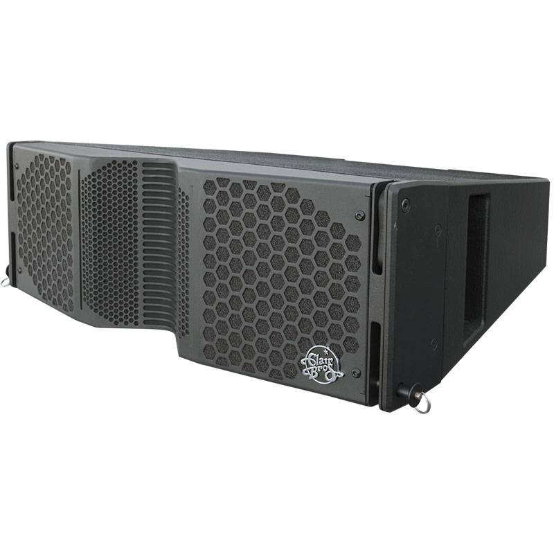 "Clair Brothers 3-way active mobile array: 2x8""LF,3.5""MF,1.75""HF