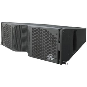 "Clair Brothers 3-way active install array: 2x8""LF,3.5""MF, 1.75""HF