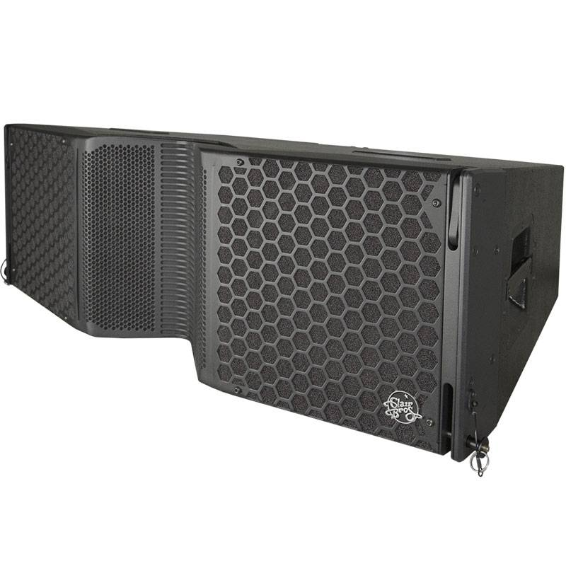 "Clair Brothers 3-way active install array:2x12""LF,4x6""MF,2x1.75""HF