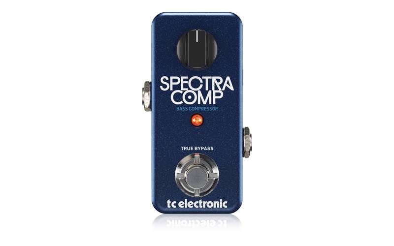 TC-Electronic crea SPECTRACOMP BASS COMPRESSOR