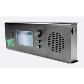 GreenGO 2 channels wallmount station with integrated speaker and mic
