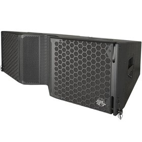 "Clair Brothers 3-way active mobile array:2x12""LF,4x6""MF,2x1.75""HF