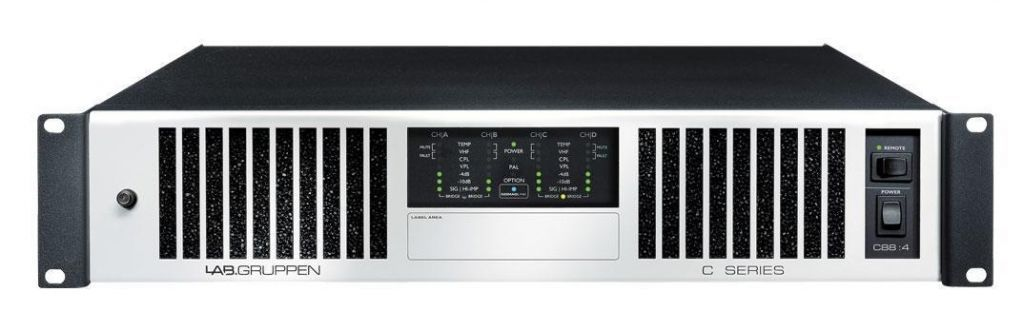 Lab Gruppen C 20:8X AMP 8X250W/4OHM