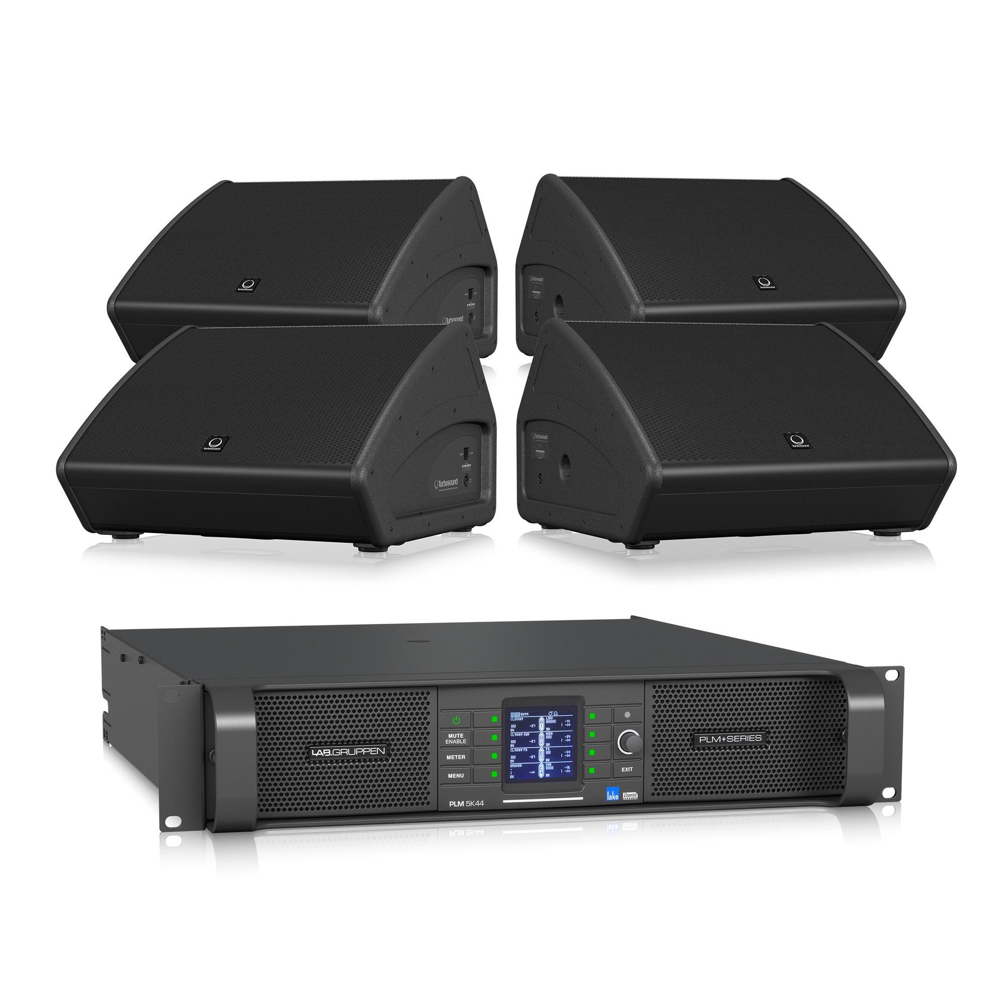 Turbosound  PROMO Turbosound TFM152M + Lab.Gruppen PLM5K44