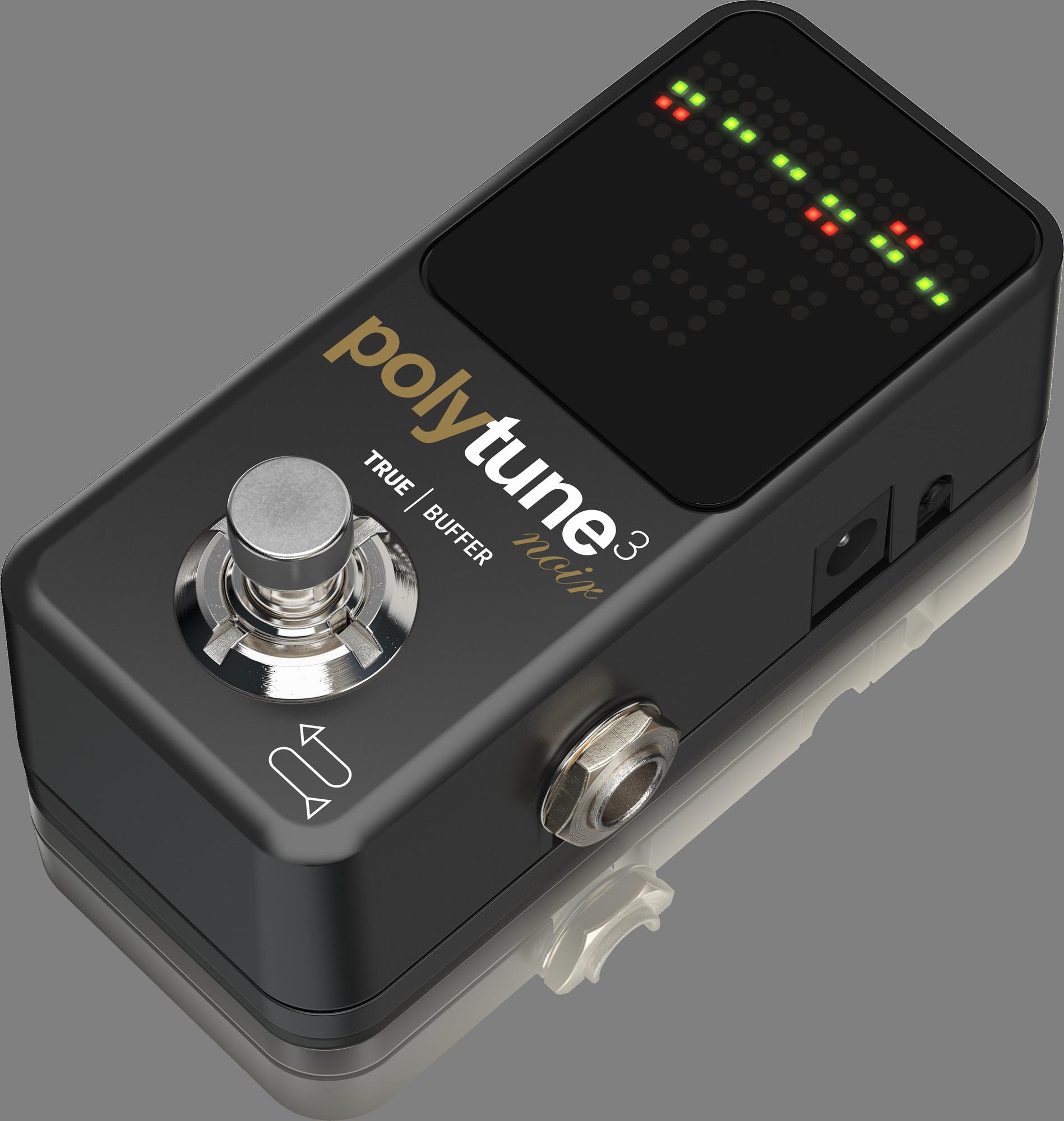 TC-Electronic POLYTUNE 3 NOIR - Tuner