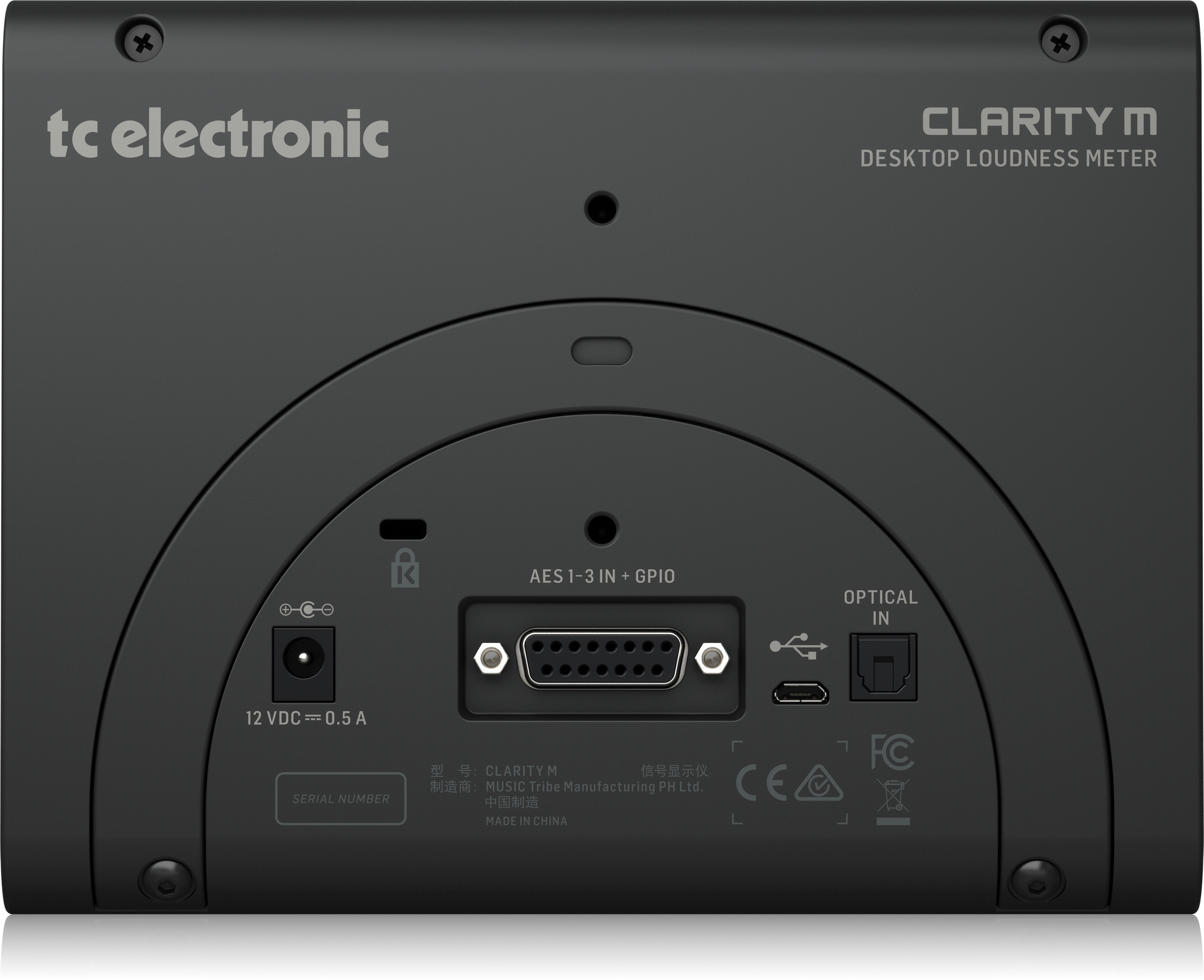 TC-Electronic CLARITY M  - Processeur de signal